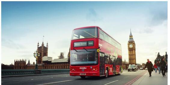 在伦敦街头的k8sr成为一道亮丽风景