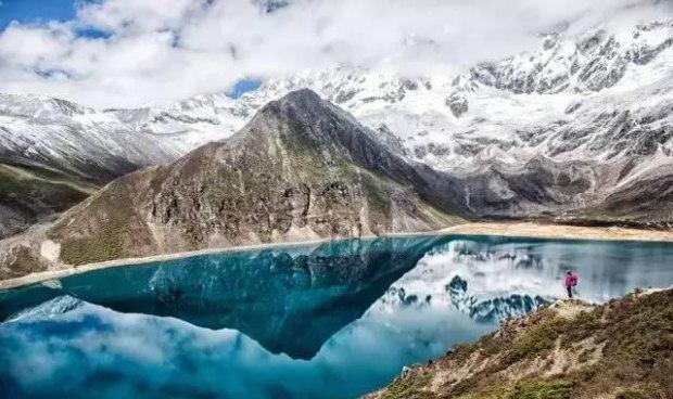 夏天只有20度 雪山冰川和江南风貌风景