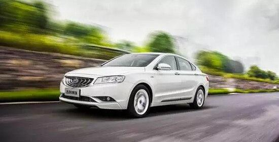 吉利汽车博瑞中国自主品牌全新时代标杆