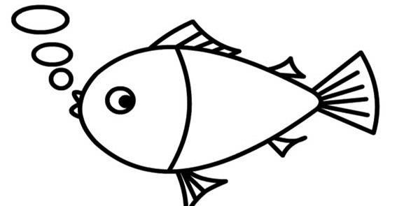 小鱼矢量图简笔画